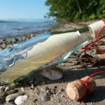 message in a bottle for post letter to no where