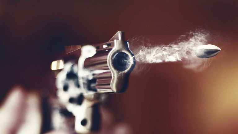 Feature Image for I dodged a bullet Graphic is a gun firing a bullet